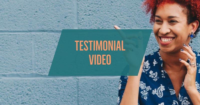 4 testimonial review video