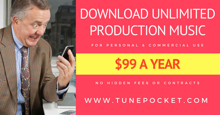download unlimited royalty-free production music for personal and commercial use