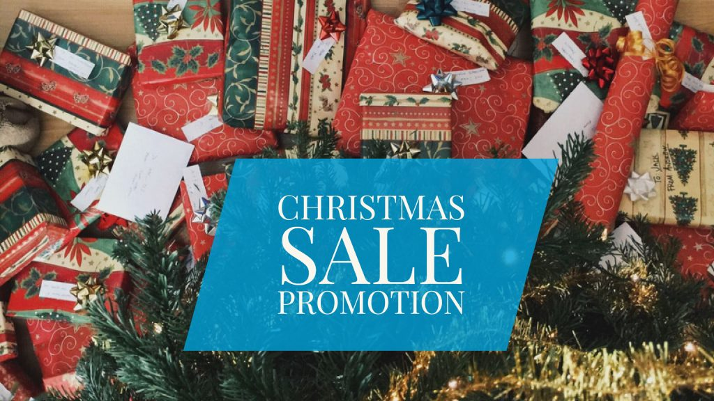 christmas sale promotion video
