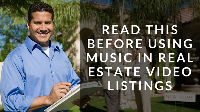 read this before using music real estate video listings
